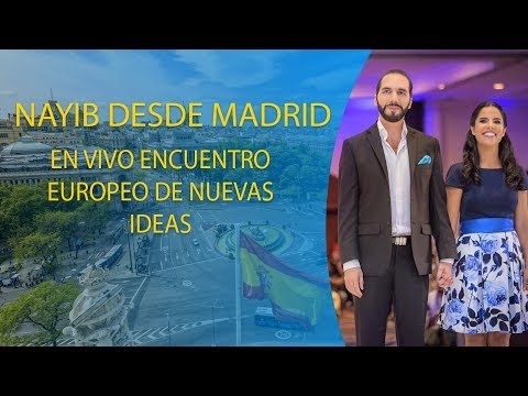 Nayib Bukele en Madrid