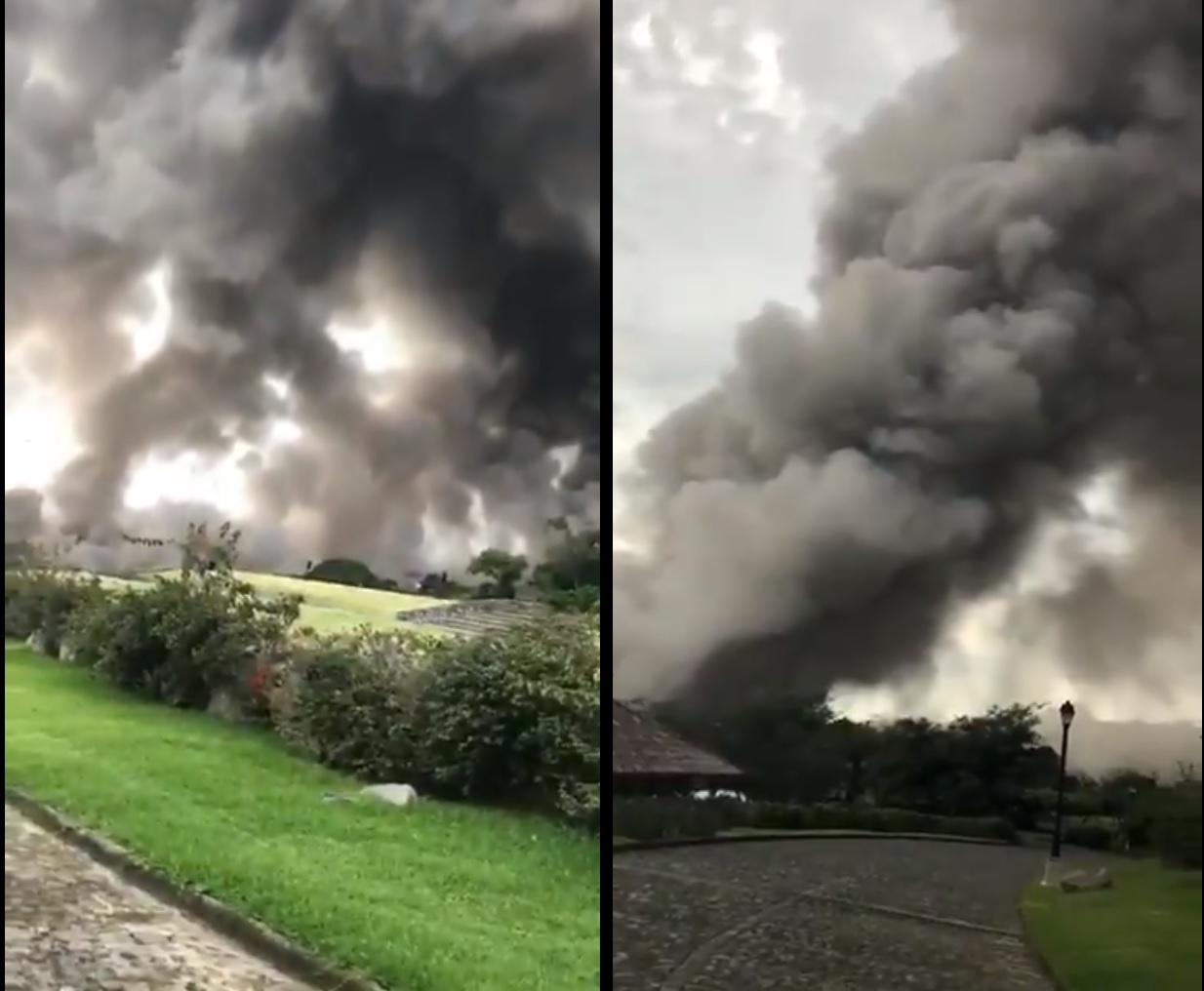 Erupción del volcán Fuego en Guatemala