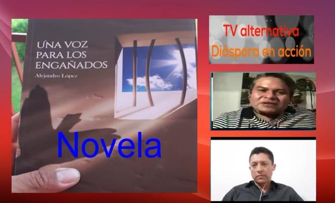 Salvadoreño edita novela histórica en Italia