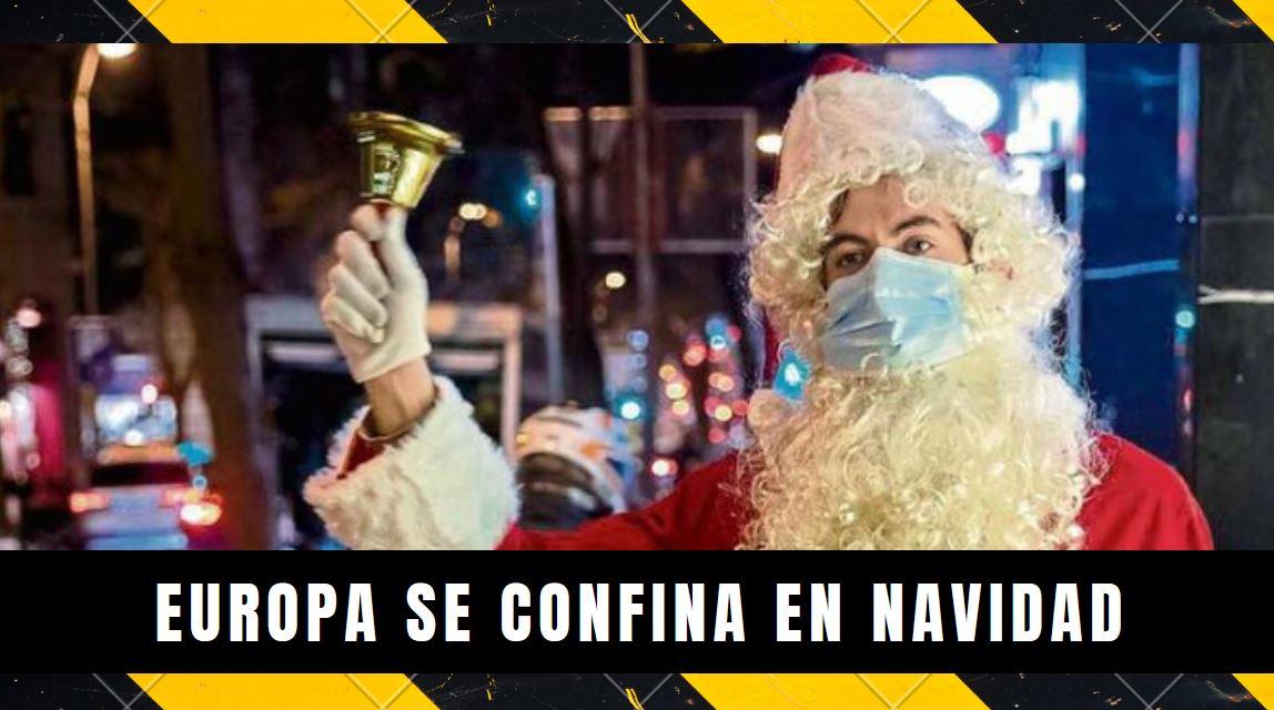 Europa se confina para navidad