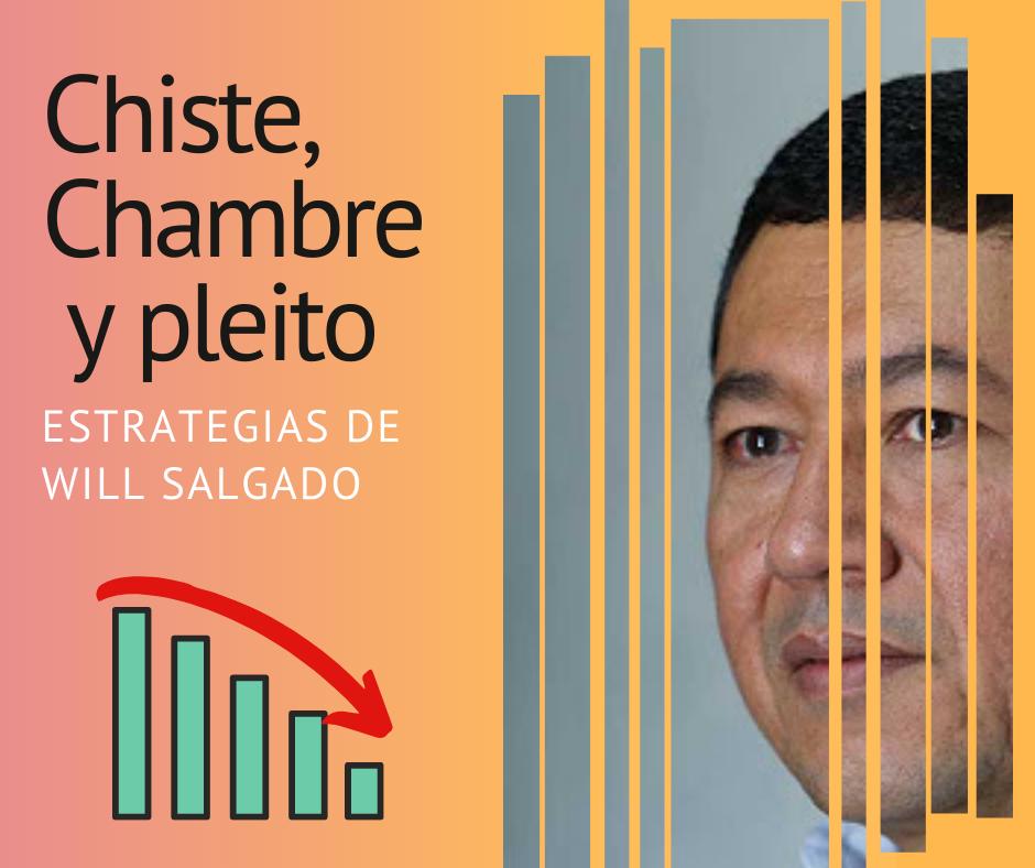 Will Salgado y sus estrategias: El Chiste, El Chambre y el Pleito