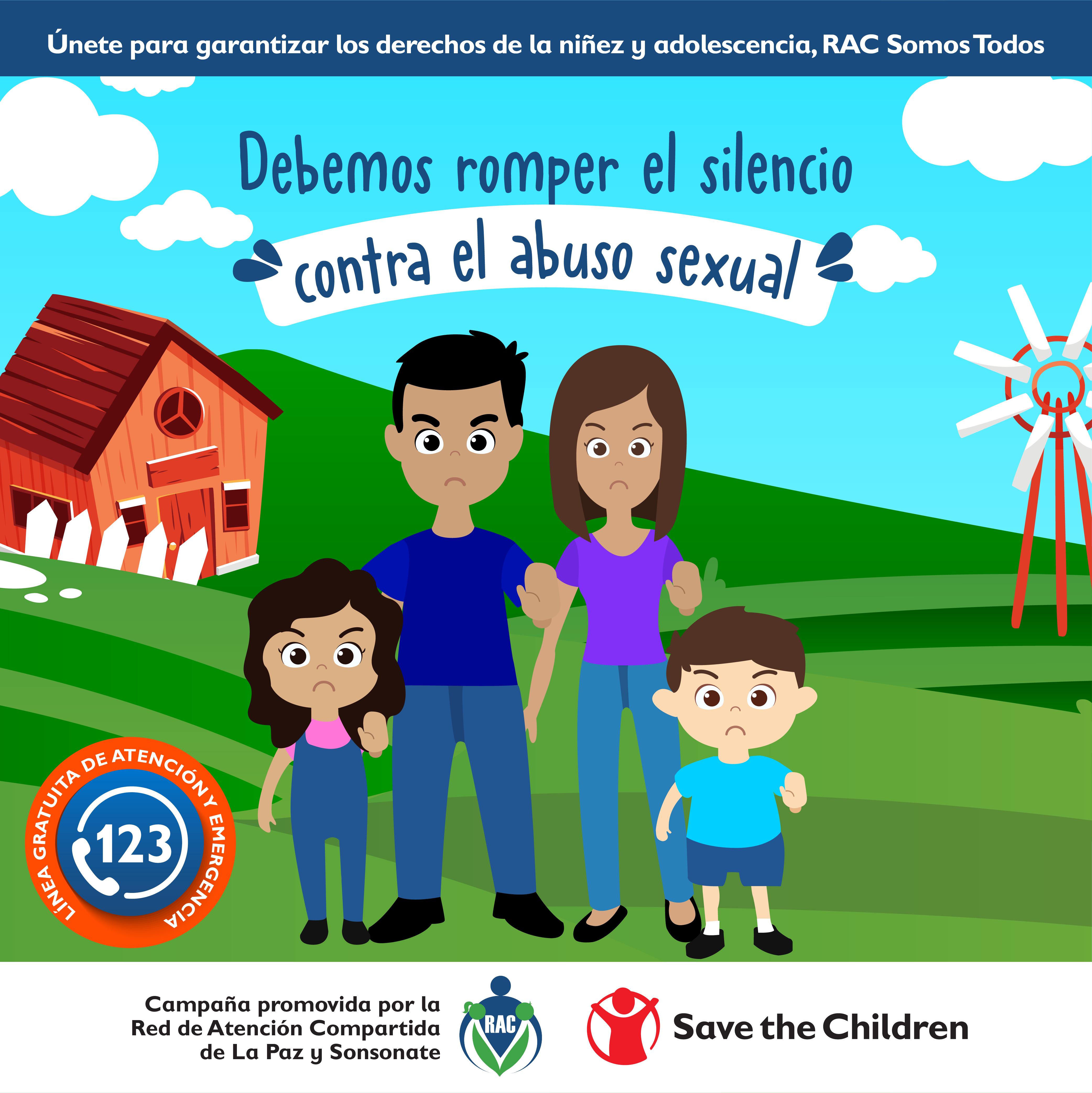 RAC Lanza campaña de promoción de derechos de las niñas y niños en El Salvador.