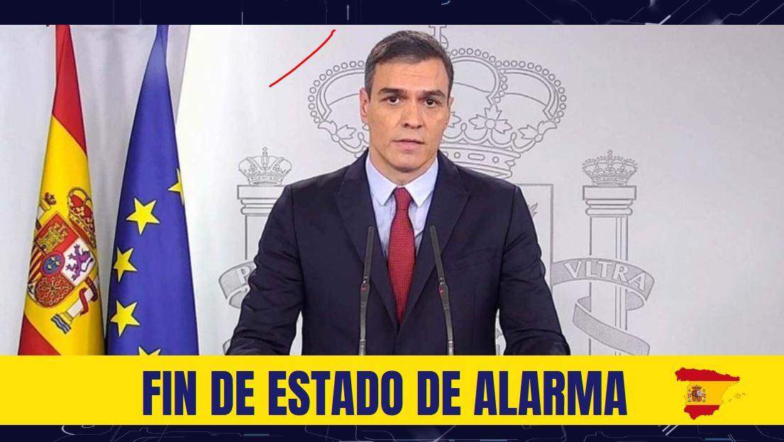 Fin del estado de alarma en España