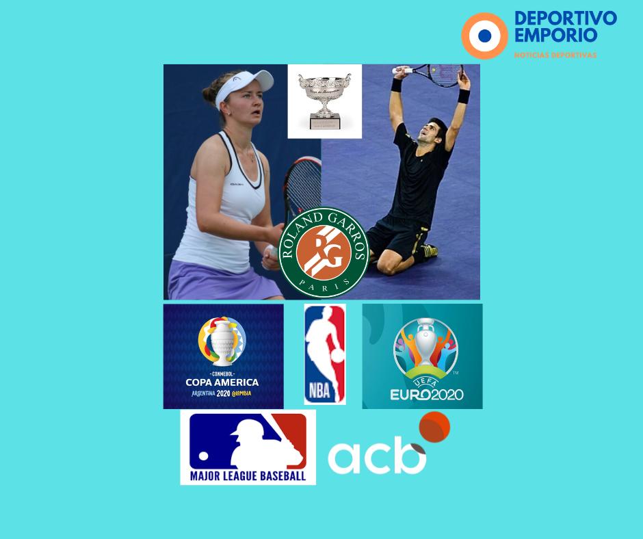 Roland Garros y sus Campeones, EUROCOPA y Copa América y mucho más!