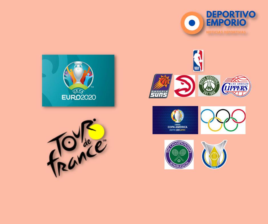 Inician los octavos de la Eurocopa!, Finales de conferencia de la NBA, esto y más!