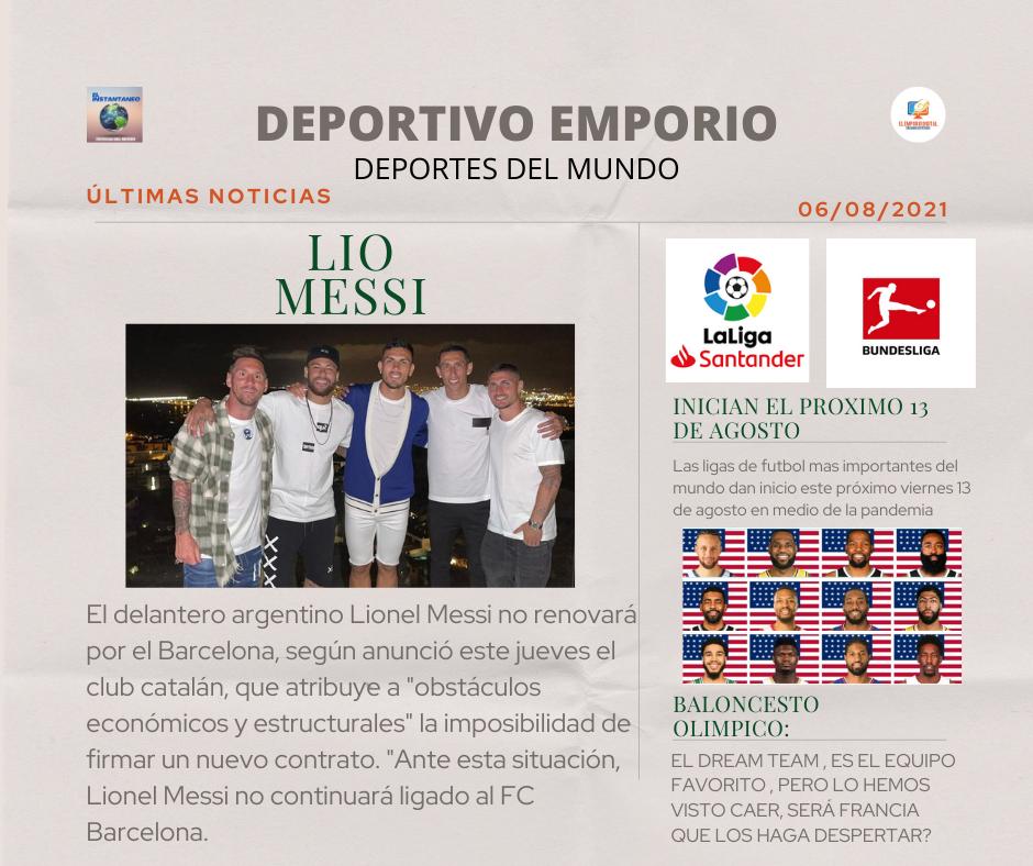 Bombazo! Messi no va más en el Barcelona FC