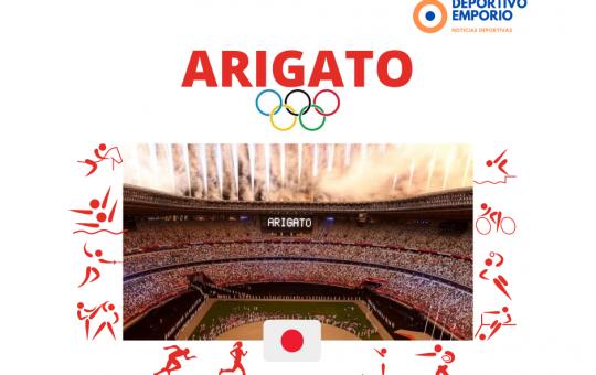 Juegos Olímpicos de TOKIO ¡ARIGATO!