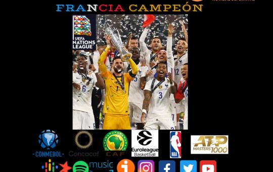 Francia Campeón! UEFA Nations League 2021